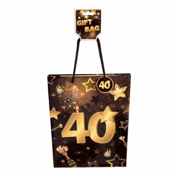 40th Birthday Gift Bag Party Favor Favour